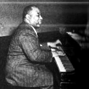 Luckey Roberts at the piano