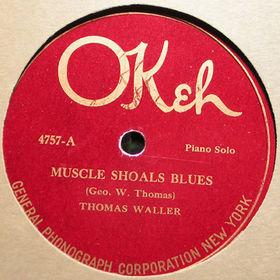 Fats Waller Muscle Shoals Blues