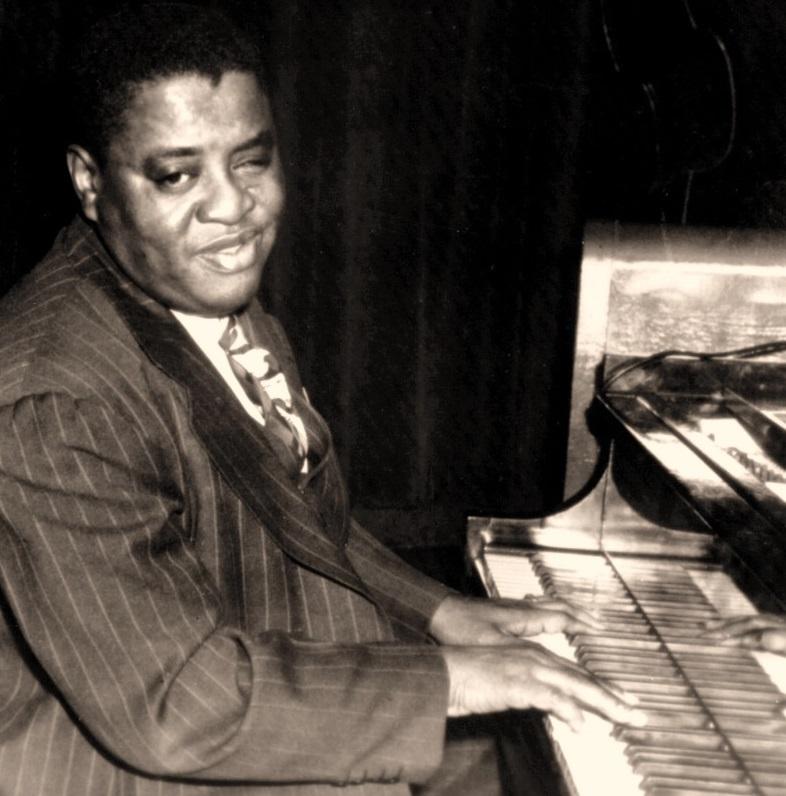 Art Tatum at the piano